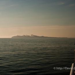 L\'Île-d\'Entrée à l\'aurore