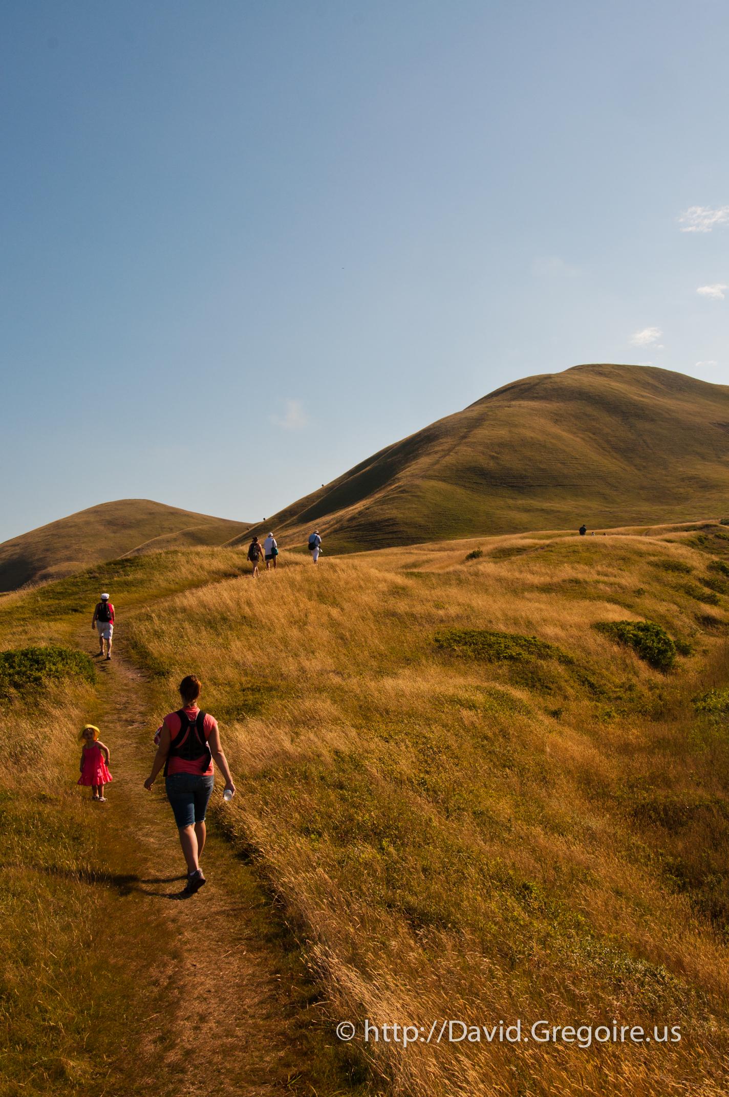 Big-Hill, Île-d\'Entrée à l\'aurore