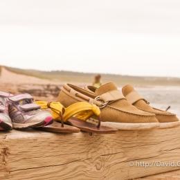 Partis pour la plage de la Grande-Entrée