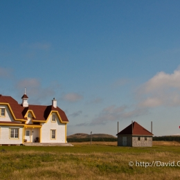 Petite maison avec superbe vue à l\'Étang-du-Nord