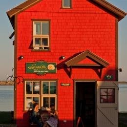 Photo de maison typique des Îles-de-la-Madeleine, Havre-Aubert