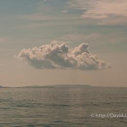 Nuage sur Cap-aux-Meules