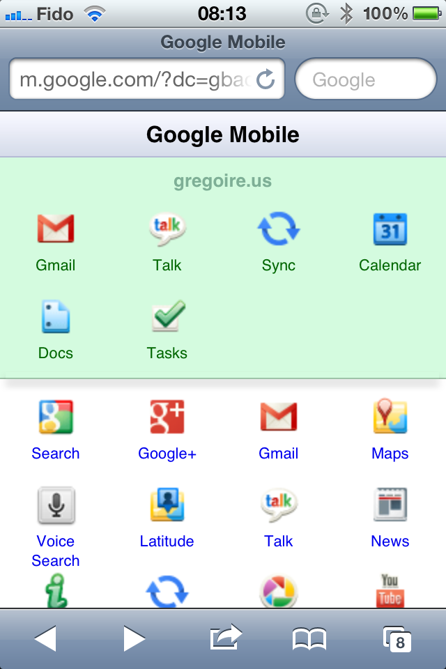 iPhone et iPad avec Google Apps ou Gmail: comment