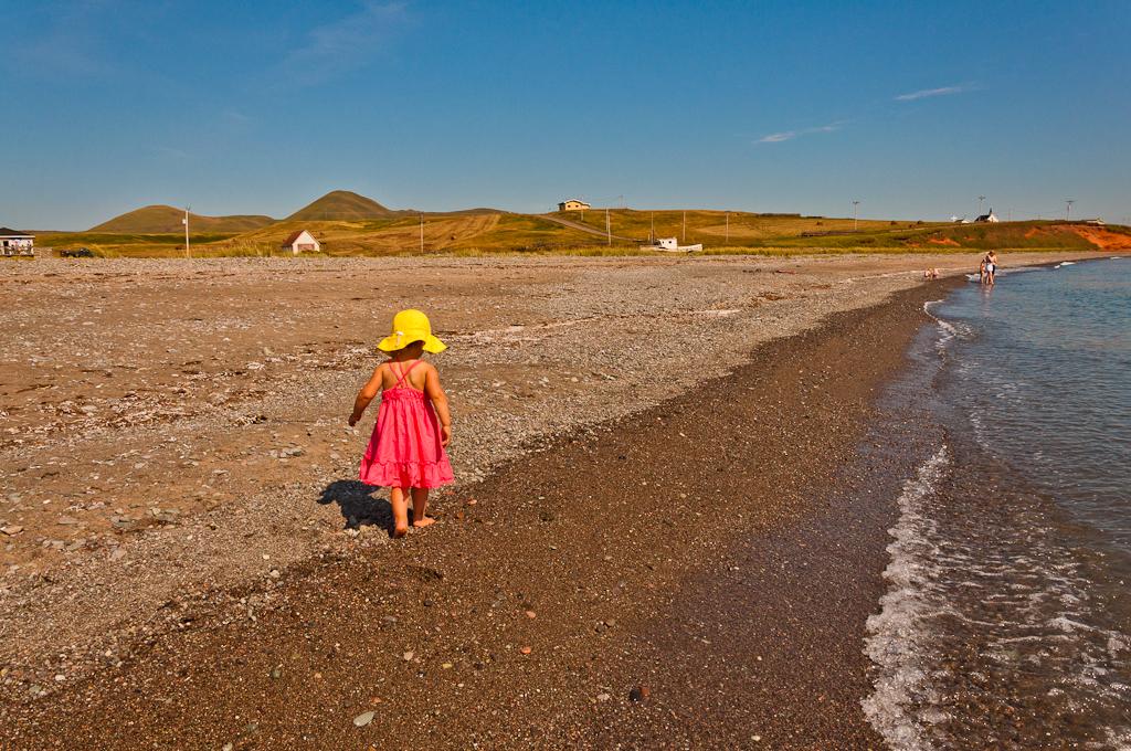 La plage de l'Île-d'Entrée