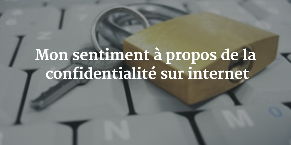 confidentialité internet