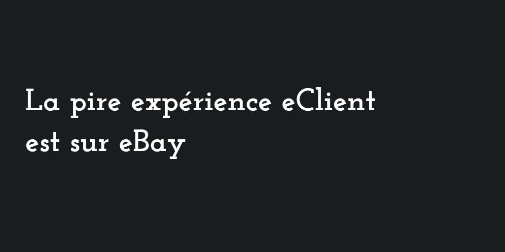 pire experience ebay
