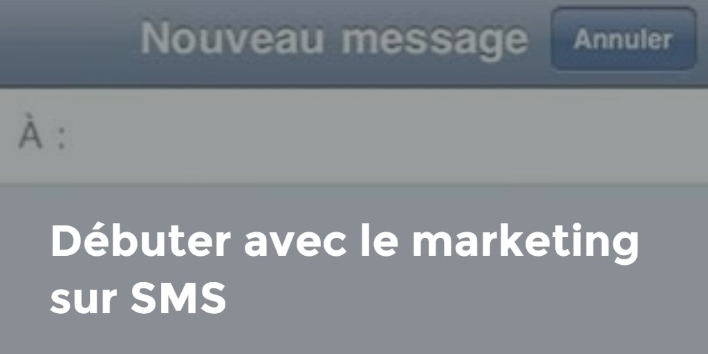 debuter mark sms