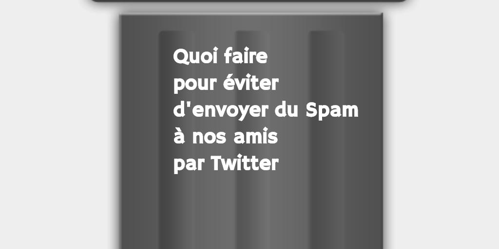 spam twitter