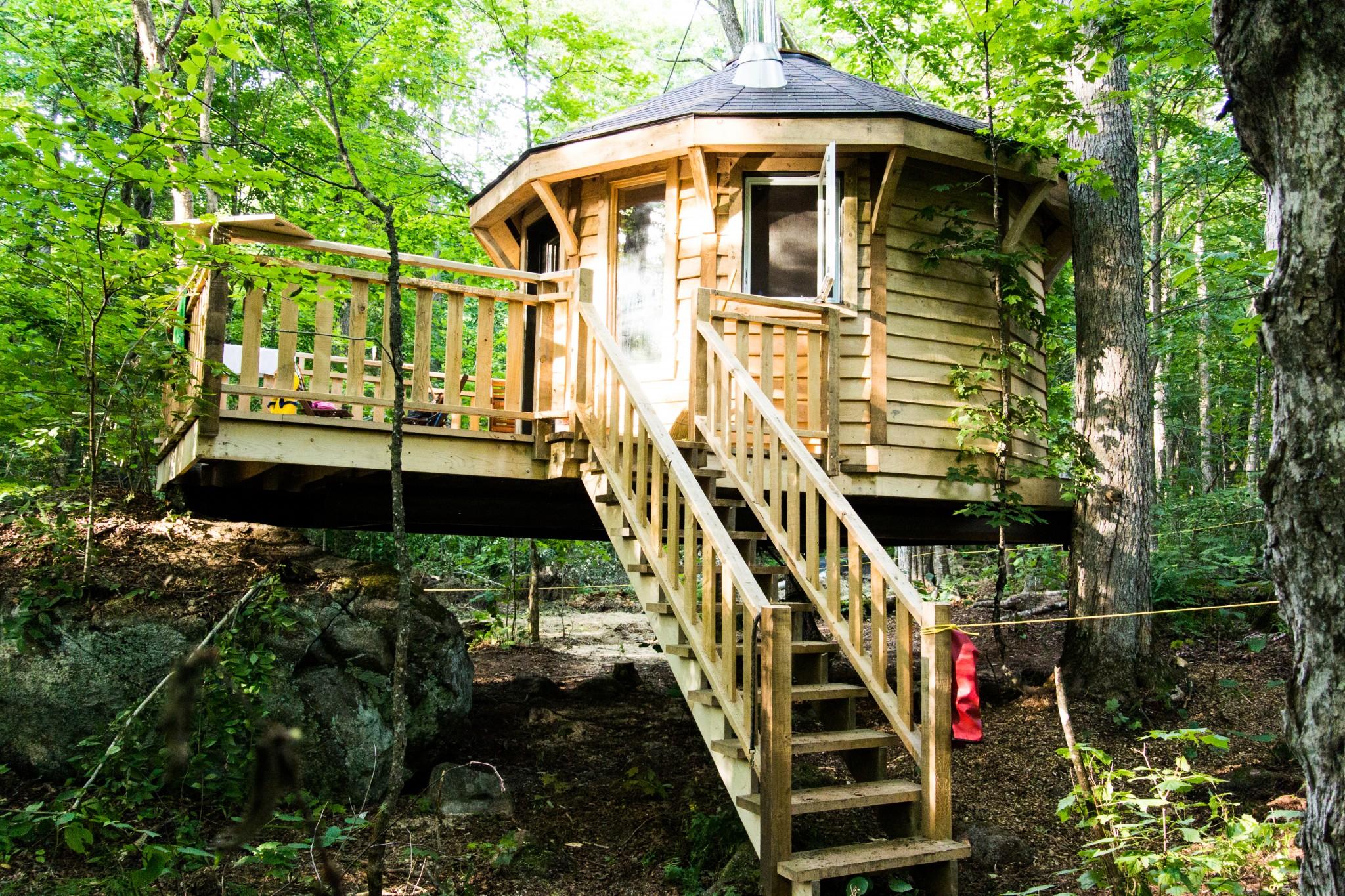 nous avons lou une cabane dans les arbres l arriv e par david gr goire monsieur ecommerce. Black Bedroom Furniture Sets. Home Design Ideas